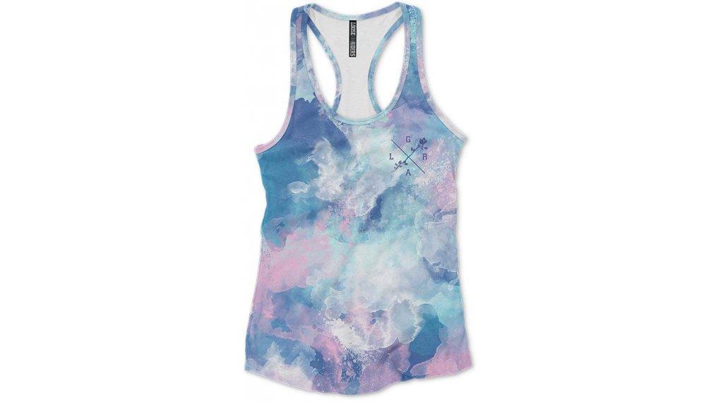 Loose Riders Aqua T-Shirt kurzarm Damen Gr. S aqua