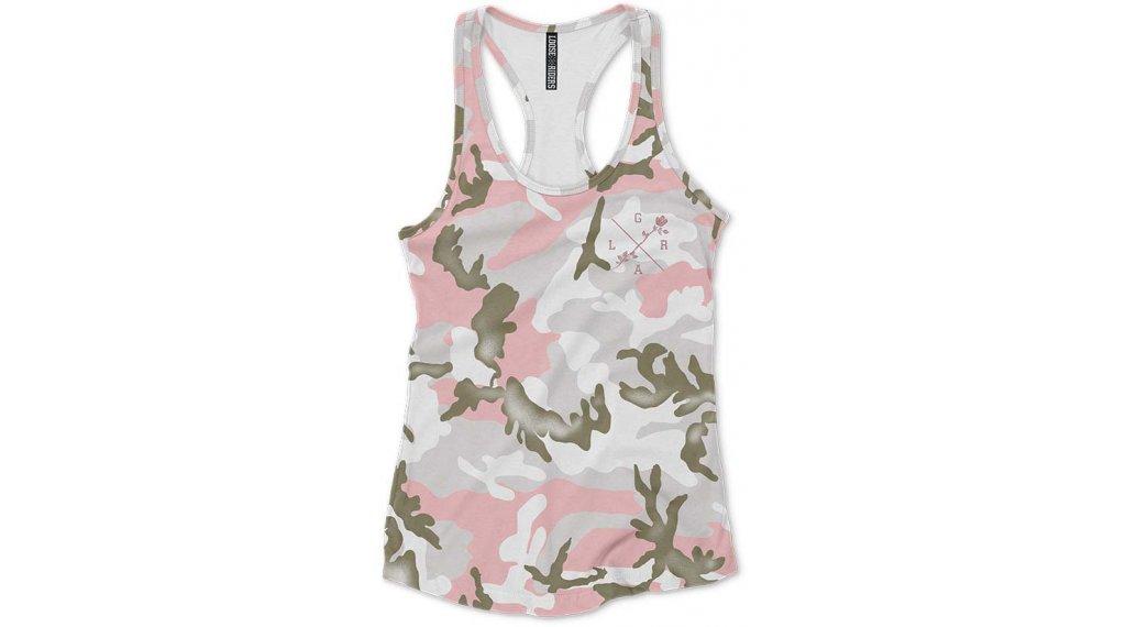 Loose Riders Camo T-Shirt kurzarm Damen Gr. S camo pink