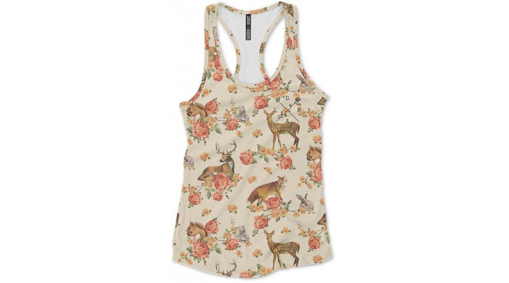 Loose Riders Forest Animals T-Shirt kurzarm Damen Gr. M forest animals