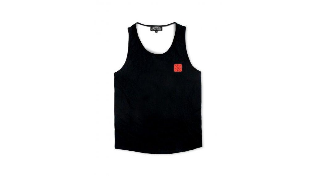 Loose Riders Rising Sun Tank-Top tamaño S negro/rojo