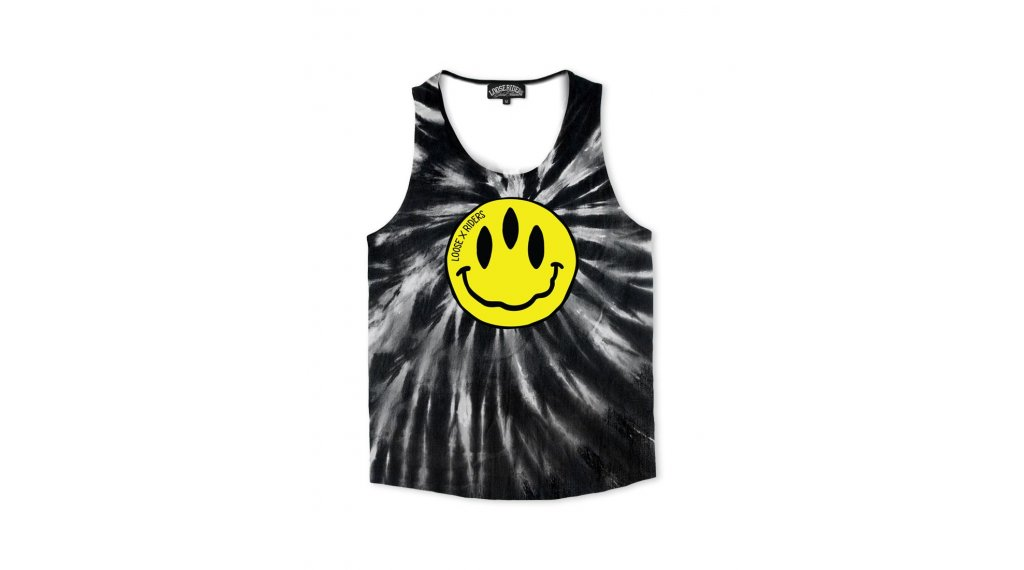 Loose Riders Stoked! TD Tank-Top size L black/yellow