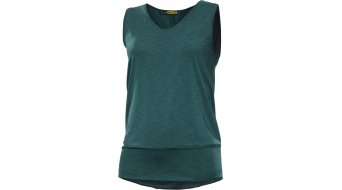 Mavic Echappée Tank Top 无袖 女士-Tank Top 型号 XS deep teal/aruba blue