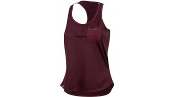 Pearl Izumi Escape road bike-Tank Top singlet no sleeve ladies size L port twill/port