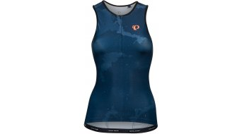 Pearl Izumi Elite Pursuit Tank top ujjatlan női navy/fiery coral cosmic