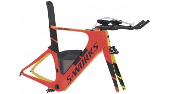 Specialized S-Works Shiv Module 28 Triathlon Rahmenkit rocket red/neon yellow/black Mod. 2017