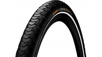 "Continental Contact Plus 24"" SafetyPlusBreaker Touring-钢丝胎 47-507 (24x1.75) 黑色/黑色 Reflex 3/180tpi ECO50"