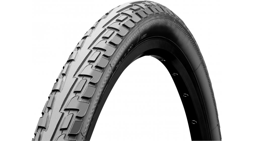 "Continental RIDE Tour 28"" Extra Puncture Belt Touring-钢丝胎 47-622 (28 x 1.75) 灰色/灰色 3/180tpi ECO25"
