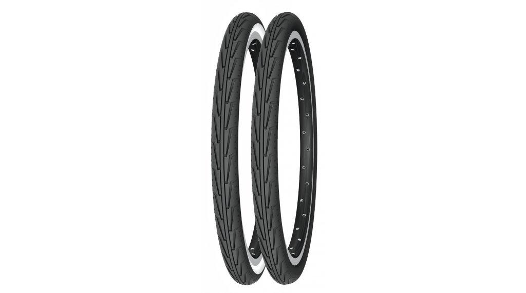 Michelin CityJ Drahtreifen 37-340 (400A CONFORT) schwarz/weiß