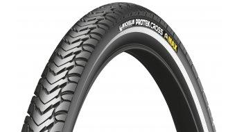 Michelin Protek Cross Max wire bead tire black reflecting