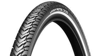 Michelin Protek Cross wire bead tire black reflecting