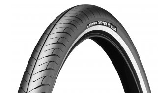 Michelin Protek Urban wire bead tire black reflecting