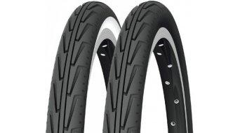 Michelin CityJ Drahtreifen 44-507 (24x1.75) schwarz/weiß