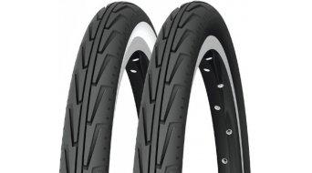 Michelin CityJ Drahtreifen 32-540 (24x1 3/8x1 1/4) schwarz/weiß
