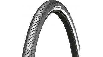 Michelin Protek Drahtreifen 28-622 (700x28C) schwarz reflektierend