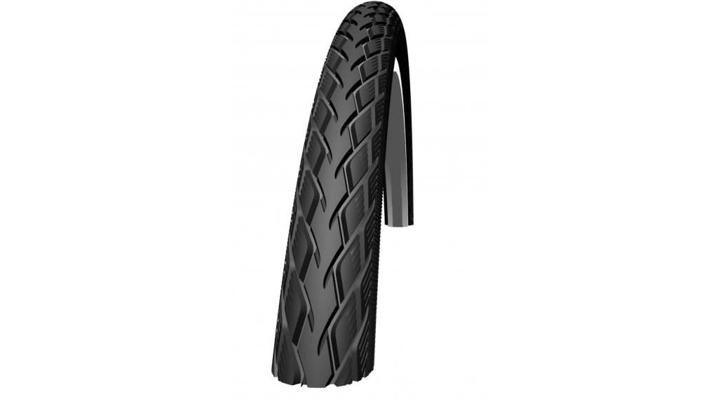 "Schwalbe 马拉松 Performance 27"" 钢丝胎 GreenGuard Endurance 32-630 (27x1 1/4) black reflex"