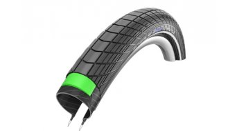 Schwalbe Big Apple Plus copertone Performance GreenGuard Twin-Skin E-25 Endurance-Compound black-reflex