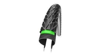 "Schwalbe Energizer Plus Tour 28"" copertone Performance GreenGuard Twin-Skin E-50 Energizer-Compound black-reflex"