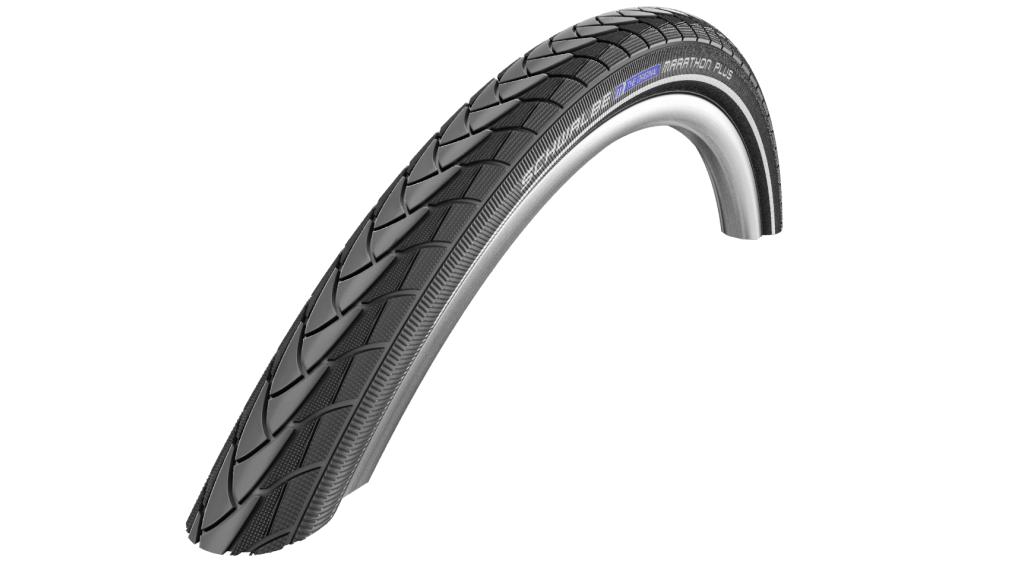 "Schwalbe 马拉松 Plus Performance 28"" 钢丝胎 SmartGuard Endurance 32-622 (700x32C) black reflex"