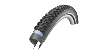 "Schwalbe Marathon Plus VTT 29"" pneu classique Performance SmartGuard Twin-Skin E-50 double-Compound black-reflex"