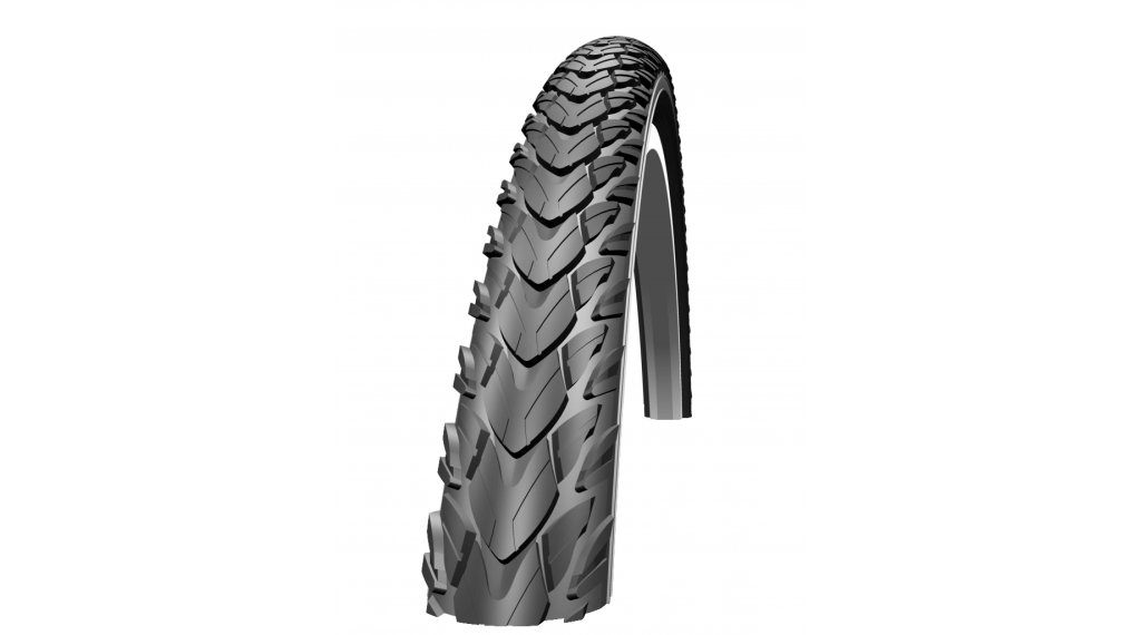"Schwalbe Marathon Plus Tour 28"" Drahtreifen Performance SmartGuard Twin-Skin E-25 37-622 (28x1.40) Endurance-Compound black-reflex"