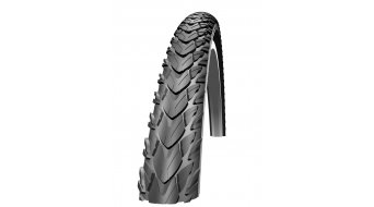 "Schwalbe Marathon Plus Tour 28"" pneu classique Performance SmartGuard Twin-Skin E-25 Endurance-Compound black-reflex"