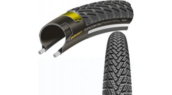 Continental TopContact II winter premium VectranBreaker Touring-folding tire black/black Reflex 3/180tpi ECO50