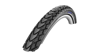 "Schwalbe Marathon Mondial 28"" gomma ripiegabile Evolution Double Defense V-Guard Snake-Skin E-25 TravelStar-Compound black-reflex"
