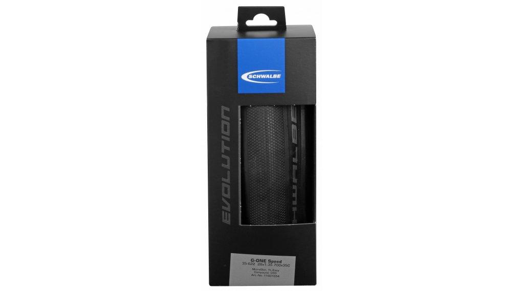 """Schwalbe G-One Speed Evolution 28"""" Faltreifen MicroSkin OneStar 35-622 (700x35C) black"""