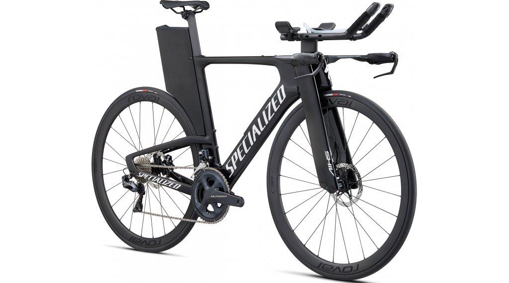 "Specialized Shiv Expert Disc Ultegra Di2 28"" Triathlon bici completa . gloss carbonio/metallico bianco argento/clean mod. 2021"
