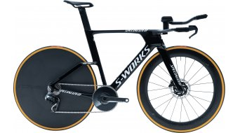 "Specialized S-Works Shiv TT Disc SRAM Red eTAP AXS 28"" TimeTrail Велосипед, размер gloss tarmac черно/бяло модел 2020"