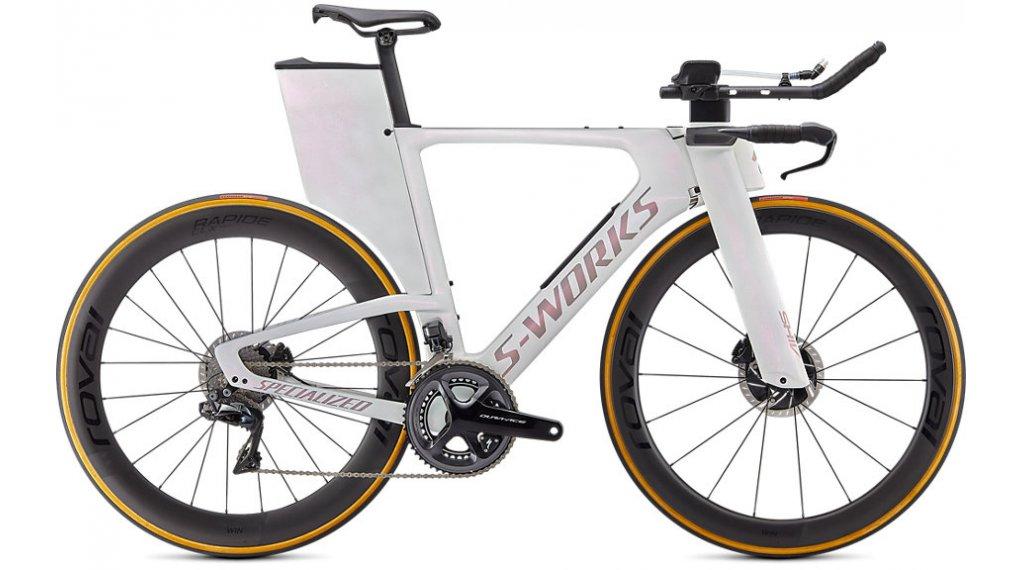 Specialized S-Works Shiv Disc Shimano Dura Ace Di2 28 Triathlon Komplettrad Gr. XS abalone/black Mod. 2021