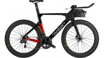 "Wilier Turbine 28"" Triathlon bike Shimano Dura Ace Di2 /  Mavic Comete size XS/S black/red matt glossy 2021"