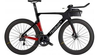 "Wilier Turbine 28"" Triathlon bike Shimano Ultegra Di2 /  Mavic Comete size XS/S black/red matt glossy 2021"