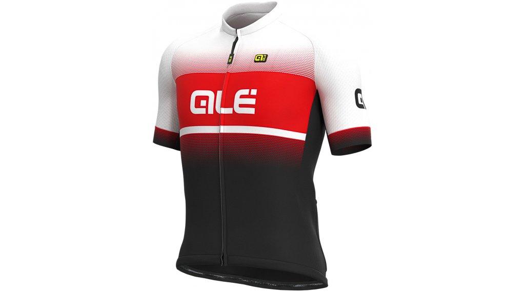 Alé Blend Solid Trikot kurzarm Herren Gr. M black/red/white