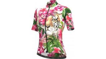 Alé Tiger Graphics PRR Trikot kurzarm Damen Gr. M pink/green