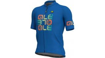 Alè Mirror Solid 领骑服 短袖 男士 型号 M blue