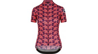 Assos Fastlane Crazy Diamond SS jersey short sleeve ladies size L solitaireRed