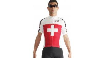 Assos SS.suissefed evo7 maillot de manga corta Caballeros-maillot Suisse