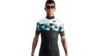 Assos SS.works Team evo7 jersey short sleeve men- jersey black/white- discontinued model