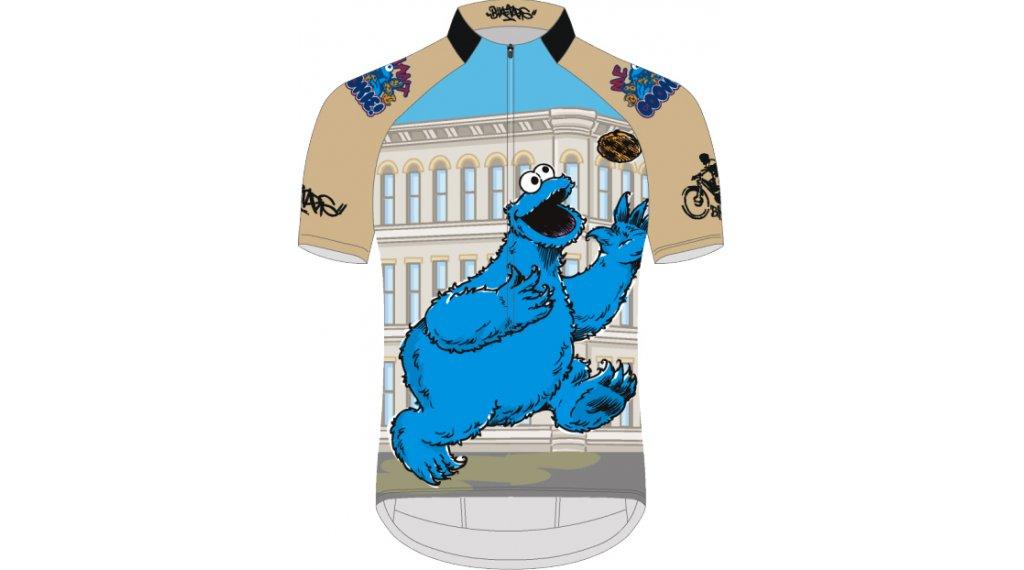 Biketags Cookie Street 领骑服 短袖 男士 型号 S