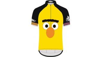 Biketags Bert & Ernie Face Trikot kurzarm Herren yellow/black