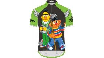 Biketags Ernie & Bert Hike Trikot kurzarm Kinder grey/black