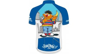 Biketags Ernie & Bert 领骑服 男士 短袖 型号 S 蓝色/灰色