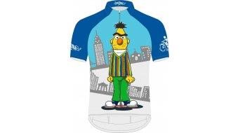 Biketags Ernie & Bert jersey kids short sleeve blue/grey