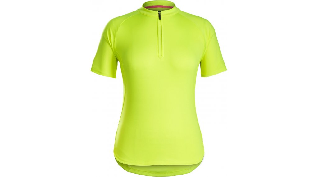 Bontrager Kalia Fitness jersey short sleeve ladies size XS (US) fluorescent yellow