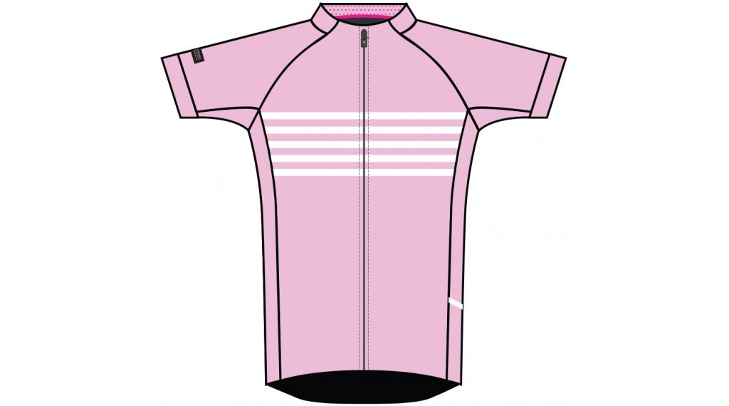 Bontrager Anara LTD jersey short sleeve ladies size S (US) pink/white