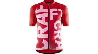 Craft ADV Endurance Graphic Trikot kurzarm Herren Gr. M bright red/fusion