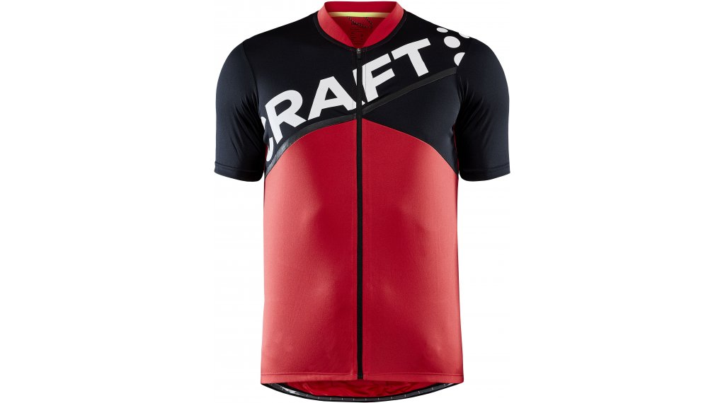 Craft Core Endurance Logo Trikot kurzarm Herren Gr. XXXXL bright red/black