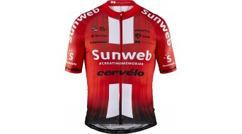 Craft Team Sunweb Aerolight jersey short sleeve men sunweb red