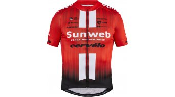 Craft Team Sunweb Replica jersey short sleeve men sunweb red